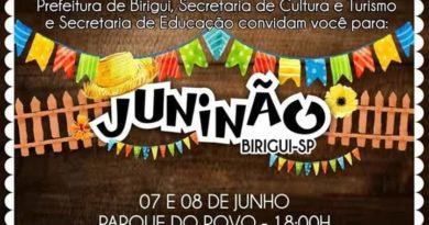FB IMG 1559113199645 390x205 - Prefeitura de Birigui realizará nos dias 07, 08 de Junho no Parque do Povo mais uma edição do Juninão