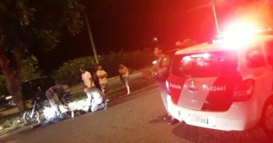 IMG 20190505 WA0025 390x205 - Motociclista fica ferido após acidente em Avenida de Birigui