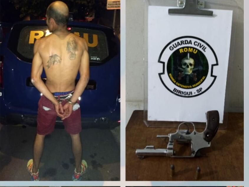 IMG 20190509 095118 - Homem é preso por posse de arma após denúncia de ameaça no bairro Vila Bandeirantes