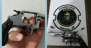 IMG 20190509 095150 390x205 - Homem é preso por posse de arma após denúncia de ameaça no bairro Vila Bandeirantes