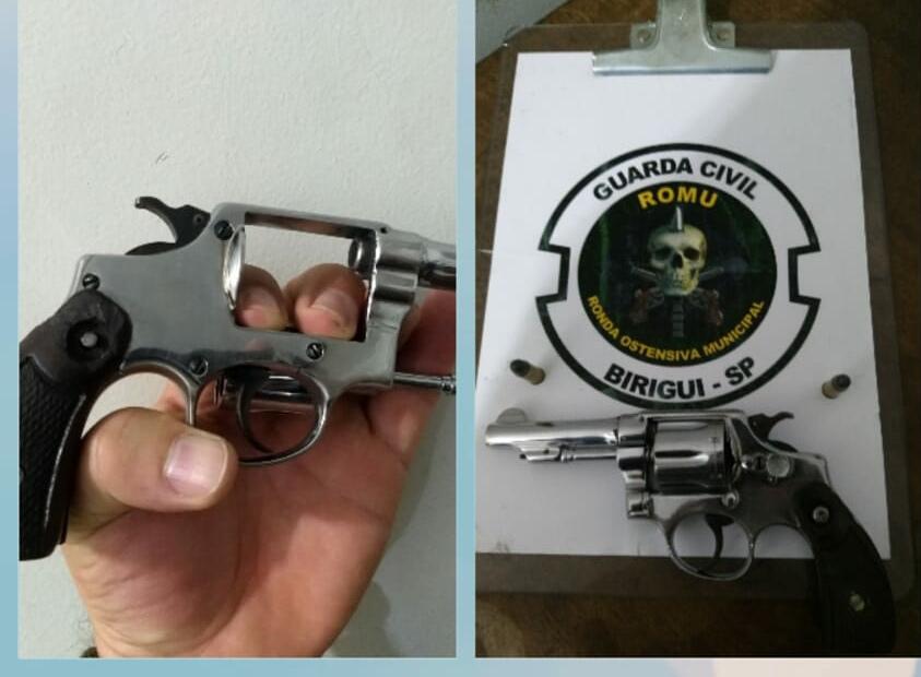 IMG 20190509 095150 - Homem é preso por posse de arma após denúncia de ameaça no bairro Vila Bandeirantes