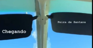 Gabriel Diniz estava em vôo que caiu no Sergipe
