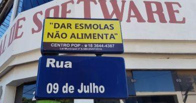 """abreesmolas 390x205 - Secretaria de Assistência e Desenvolvimento Social inicia campanha """"Dar Esmolas não Alimenta"""""""
