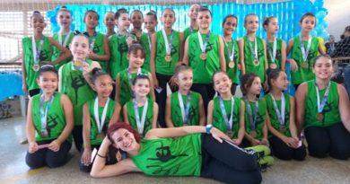 ginastica 002 390x205 - Ginástica rítmica de Birigui é vice-campeã em competição realizada na cidade de Penápolis