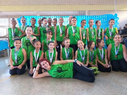 ginastica 002 - Ginástica rítmica de Birigui é vice-campeã em competição realizada na cidade de Penápolis