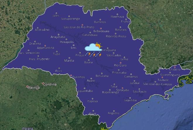 20190626 1 659x445 - Chuva chega ao interior paulista