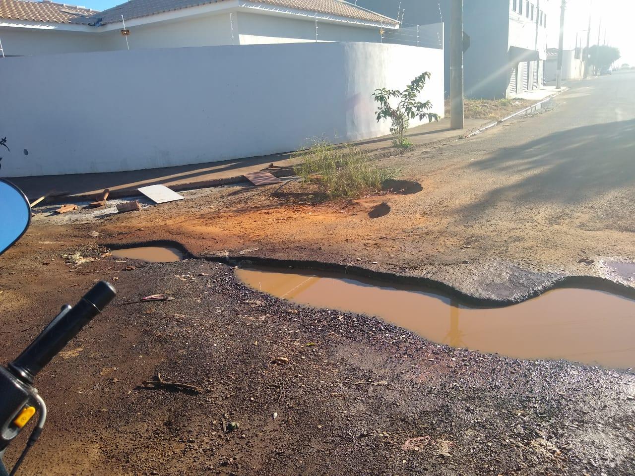 IMG 20190614 WA0002 1024x768 - Moradores do Portal 2 reclamam de buracos em ruas do bairro