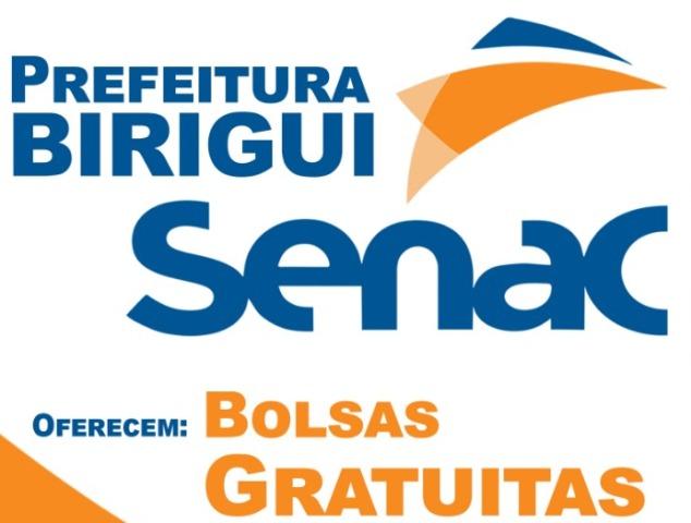 abrebolsagratis - 5 novos cursos serão oferecidos gratuitamente em parceria entre Prefeitura e Senac