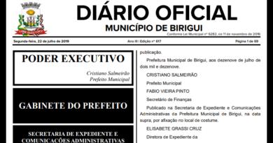 cropped IMG 20190722 214859 390x205 - Prefeitura de Birigui abrirá concurso para 145 vagas