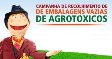 cropped abreembalagens 390x205 - Coleta itinerante de embalagens vazias de agrotóxicos acontece no bairro rural do Goulart