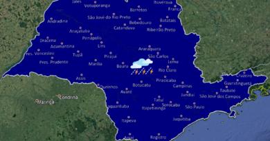 20190803 1 1 390x205 - Final de semana tem chuvas isoladas no nordeste e leste do estado de São Paulo
