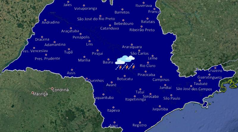 20190803 1 1 800x445 - Final de semana tem chuvas isoladas no nordeste e leste do estado de São Paulo