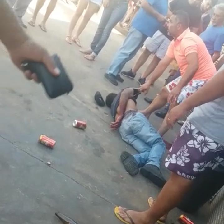 IMG 20190811 195952 - Homem é baleado e morto em frente a cervejaria no Quemil