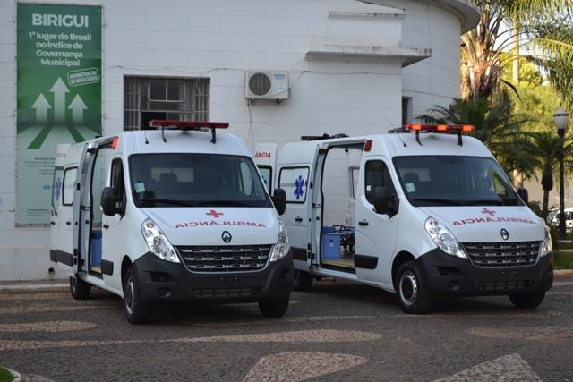ambu2 - Prefeitura de Birigui adquire duas novas ambulâncias