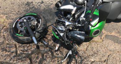IMG 20190917 WA0146 390x205 - Motociclista fica ferido após acidente em Avenida de Birigui