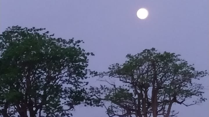 """Lua cheia ilumina """"sexta-feira 13"""" no interior paulista"""