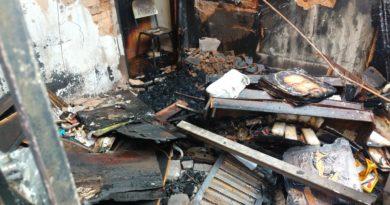 top3 390x205 - Incêndio destrói casa no Residencial Capuano em Birigui