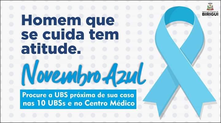 FB IMG 1572506154302 - Saúde de Birigui realizará Campanha Novembro Azul