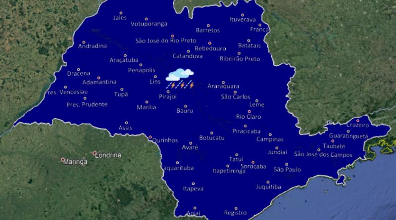 20191126 1 800x445 - Chegada de nova frente-fria deve trazer chuva para o interior paulista