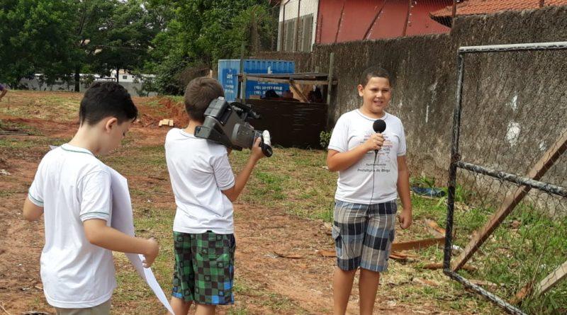 isabel1 800x445 - Alunos de Birigui produzem reportagem sobre a escola