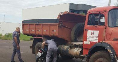 IMG 20200104 150707 390x205 - Acidente entre caminhão e motoneta deixa mulher ferida em Birigui