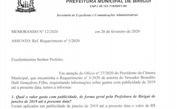 IMG 20200314 001934 720x445 - Prefeitura de Birigui gasta mais de R$ 800 mil em publicidade