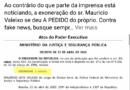 """Presidente mente em publicação do Diário Oficial: """"Não assinei exoneração"""" diz Sérgio Moro"""