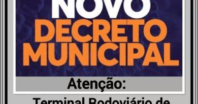 FB IMG 1592813569734 390x205 - NOVO DECRETO MUNICIPAL MANTÉM FECHADO O TERMINAL RODOVIÁRIO DE BIRIGUI