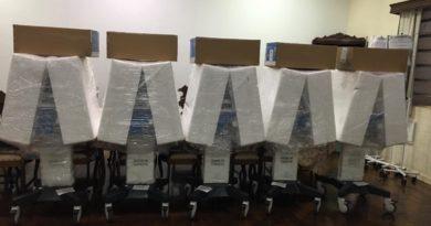cinco 390x205 - Birigui conta com 10 novos respiradores e 5 monitores para pacientes com COVID-19