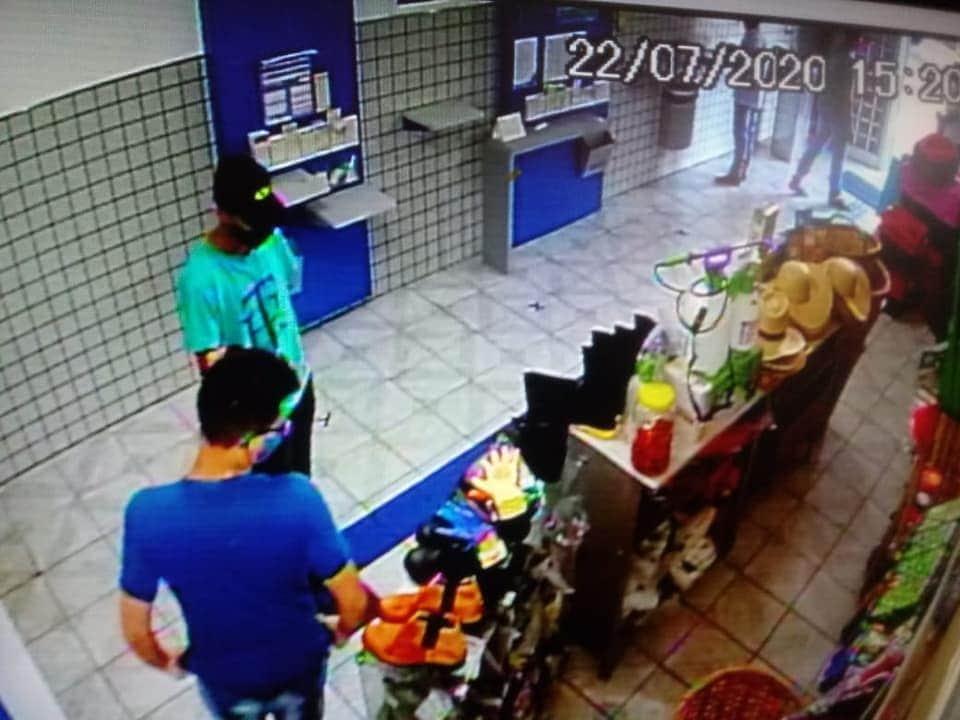 FB IMG 1595456249639 - Rapaz é preso pela PM após roubo a Casa Lotérica em Gabriel Monteiro