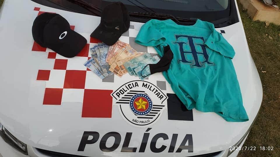 FB IMG 1595456255126 - Rapaz é preso pela PM após roubo a Casa Lotérica em Gabriel Monteiro