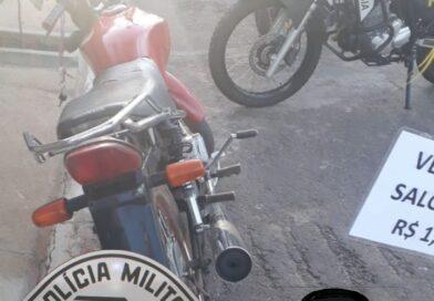 Adolescentes são detidos com moto furtada em Birigui