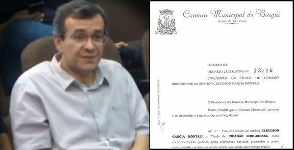 """cleudson - Médico preso acusado de chefiar quadrilha que desviava dinheiro da saúde pública, afirma em entrevista que fazia parte de """"grupo"""" político de Birigui"""