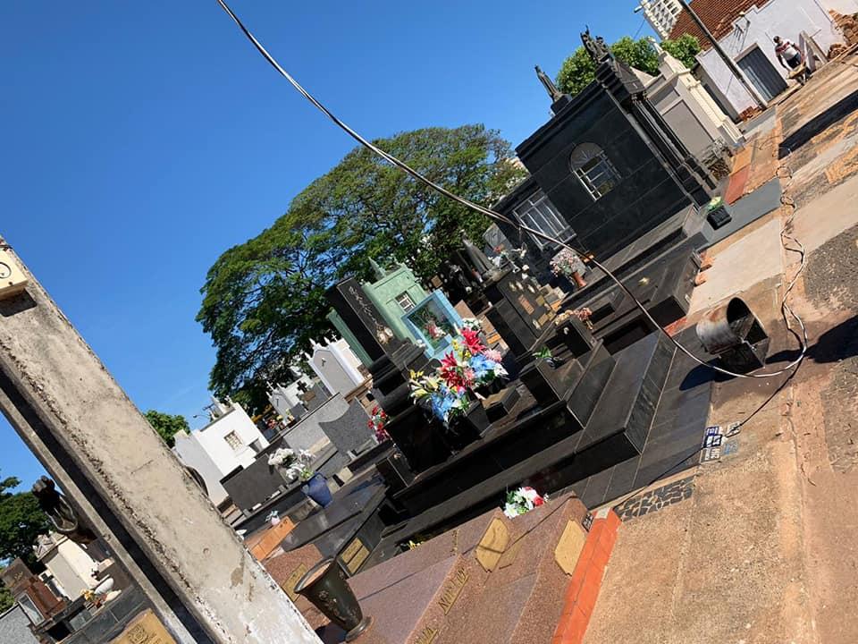 1606595191276 tumulo2 - Em três semanas, três furtos foram registrados no Cemitério Saudades, em Birigui