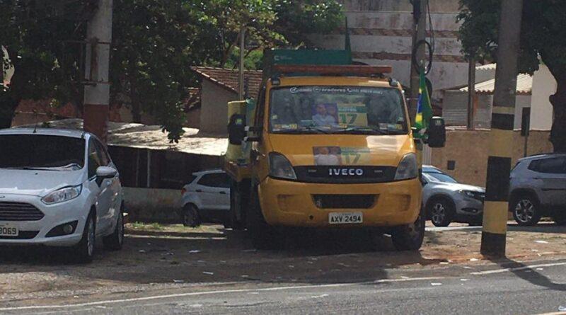 IMG 20201115 WA0001 800x445 - Boca de urna: caminhão estacionado próximo a locais de votação é apreendido pela PM em Birigui