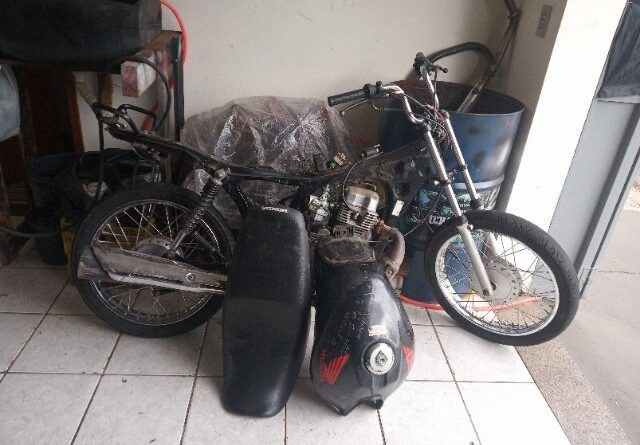 1609435903840 foto receptacao 640x445 - Polícia Militar apreende moto furtada em oficina de Birigui