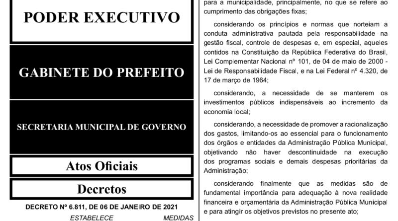IMG 20210107 210009 800x445 - CRISE: sem dinheiro em caixa, prefeito de Birigui corta gastos e faz pagamento escalonado a servidores