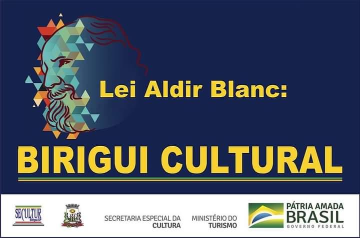 """FB IMG 1613300068848 - Mostra artística """"Lei Aldir Blanc: Birigui Cultural"""" será apresentada por meio das redes sociais"""