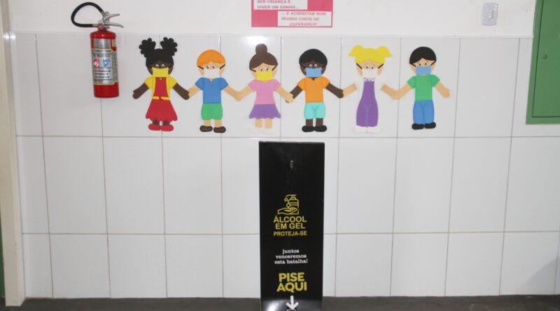 IMG 7824 800x445 - Prefeitura prepara escolas para o retorno as aulas presenciais