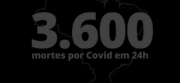 20210327 102744 - Covid-19: Brasil bate novo recorde e registra 3.600 óbitos em 24hrs