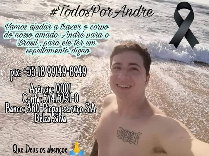 FB IMG 1616093413869 - Família de biriguiense falecido em Portugal pede ajuda para translado de restos mortais