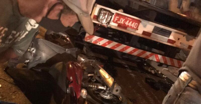 20210517 142320 800x416 - Homem morre após bater moto em caminhão em Birigui