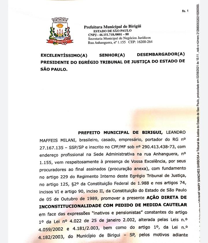 20210608 140821 - Juiz nega liminar a Prefeitura de Birigui e mantém pagamento de ticket refeição a servidores aposentados e pensionistas