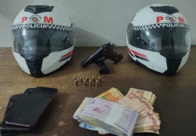 Dupla é presa após roubo à residência em Birigui